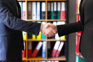 ビジネス,握手