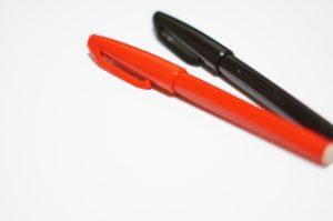 採点,赤ペン,丸付け