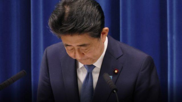 安倍晋三,辞任,首相