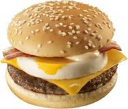 チーズ月見,ハンバーガー,マクドナルド